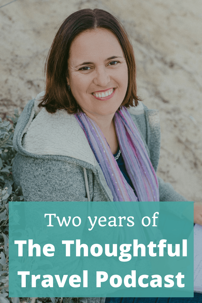 Two-year anniversary - interview with Amanda Kendle - The Thoughtful Travel Podcast