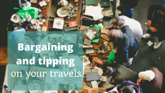 Bargaining and tipping on your travels - The Thoughtful Travel Podcast Episode 90