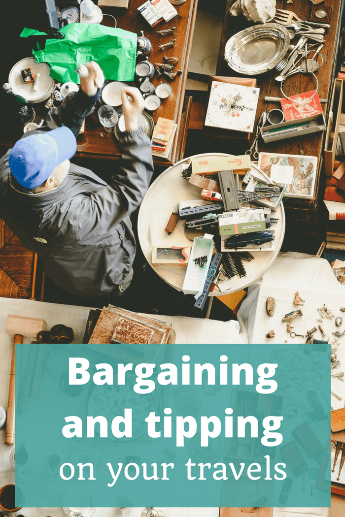 Bargaining and tipping on your travels - The Thoughtful Travel Podcast