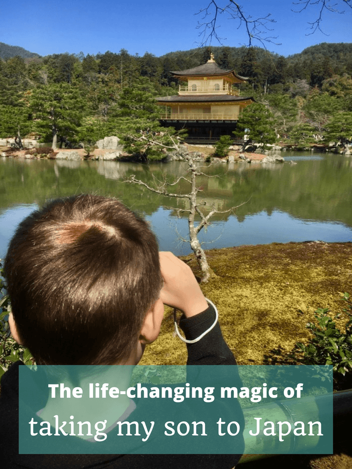 The life-changing magic of taking my son to Japan