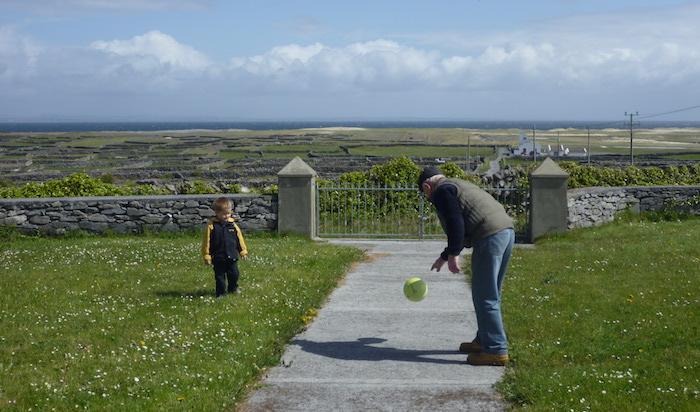 Visiting Inis Meain in Ireland