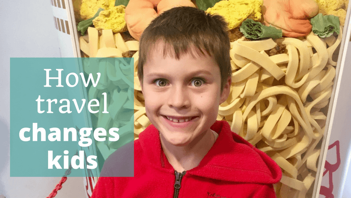 How travel changes kids - The Thoughtful Travel Podcast Episode 94