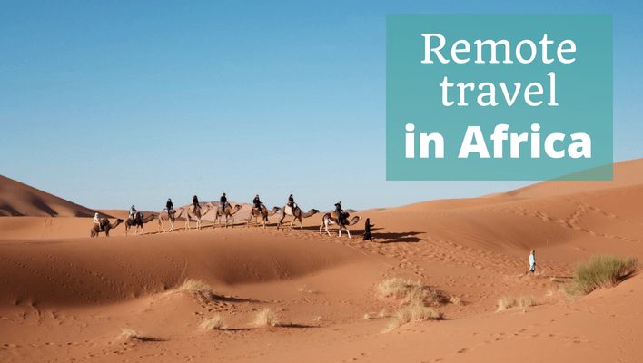 Remote Travel in Africa – Episode 96 of The Thoughtful Travel Podcast