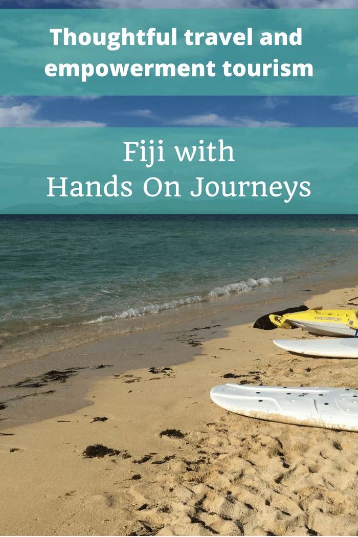 Thoughtful travel and empowerment tourism in Fiji with Hands On Journeys