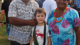 Meeting the locals when traveling in Fiji