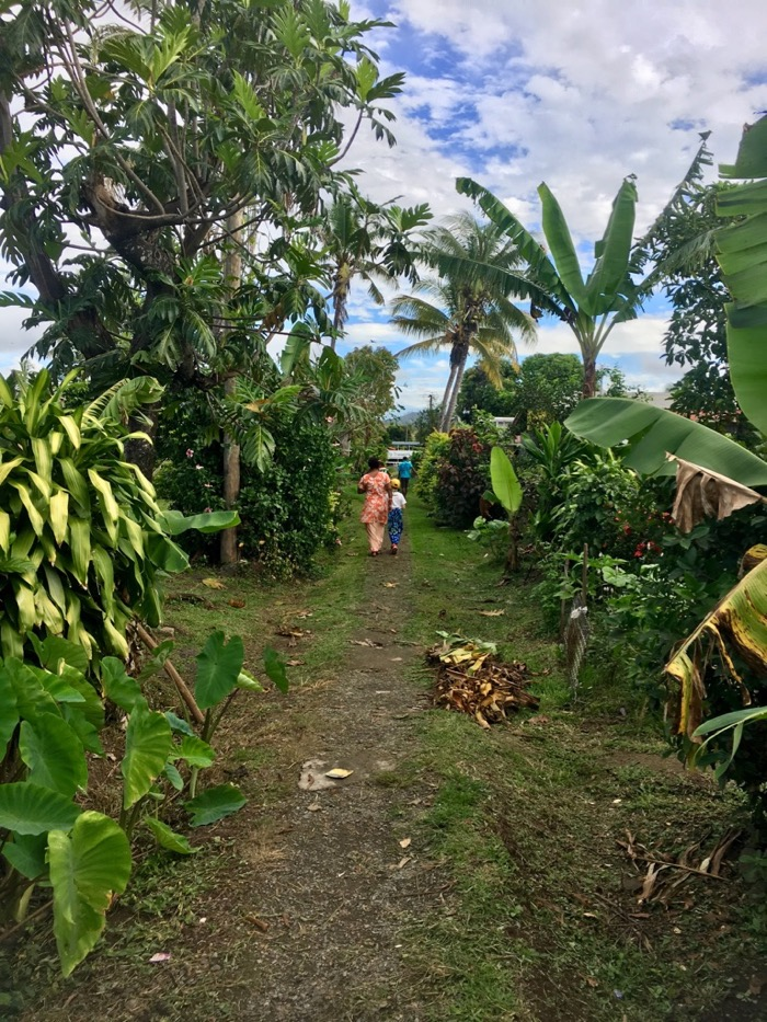 Village visit in Fiji for empowerment tourism