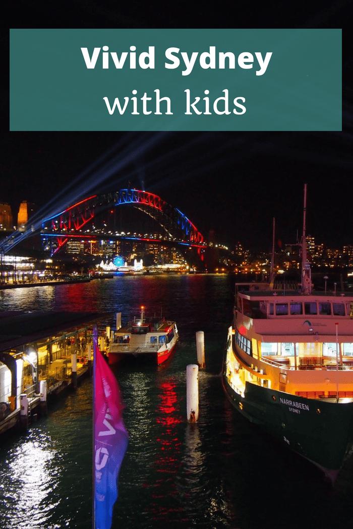 Vivid Sydney with Kids
