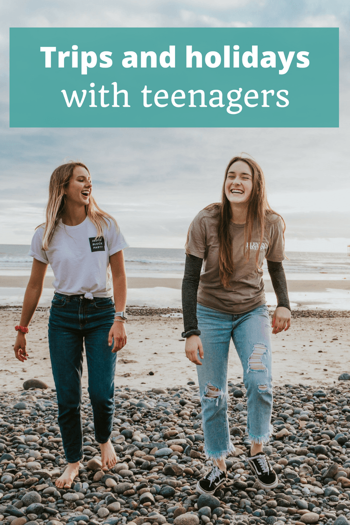 Trips and Holidays with Teenagers - The Thoughtful Travel Podcast