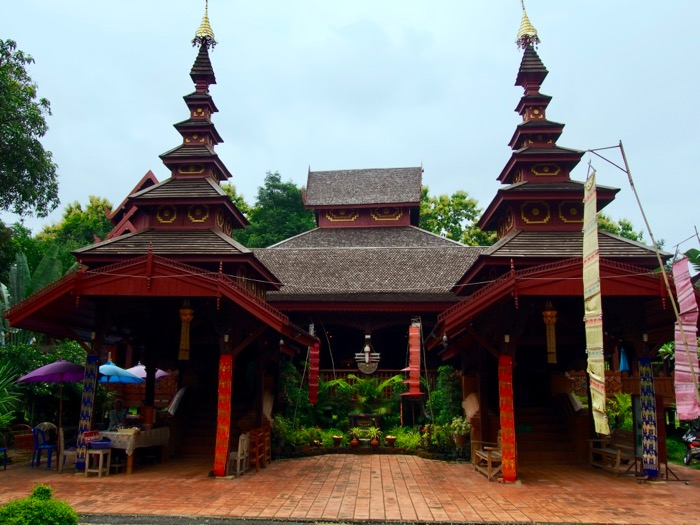 Wat Chom Sawam - Burmese-style temple in Phrae, Thailand