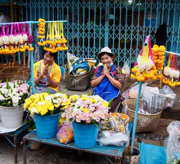 Morning markets in Nan, Thailand.