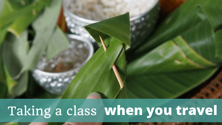 Taking a Class When You Travel – Episode 117 of The Thoughtful Travel Podcast