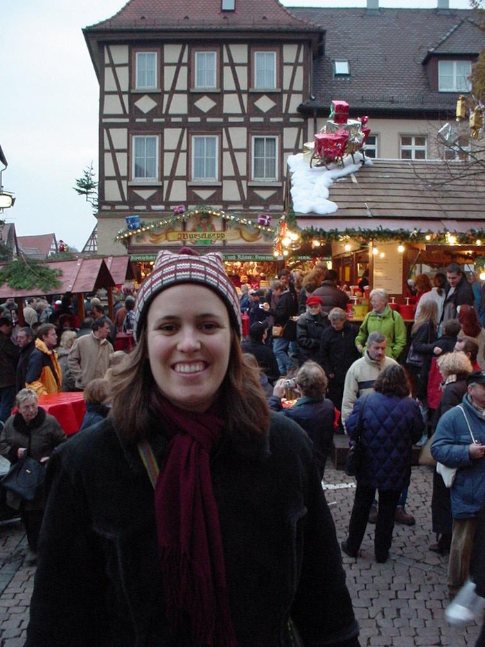 At the Christmas markets in Bad Wimpfen in southern Germany