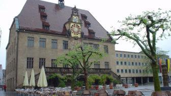 Heilbronn Rathaus - south-west Germany