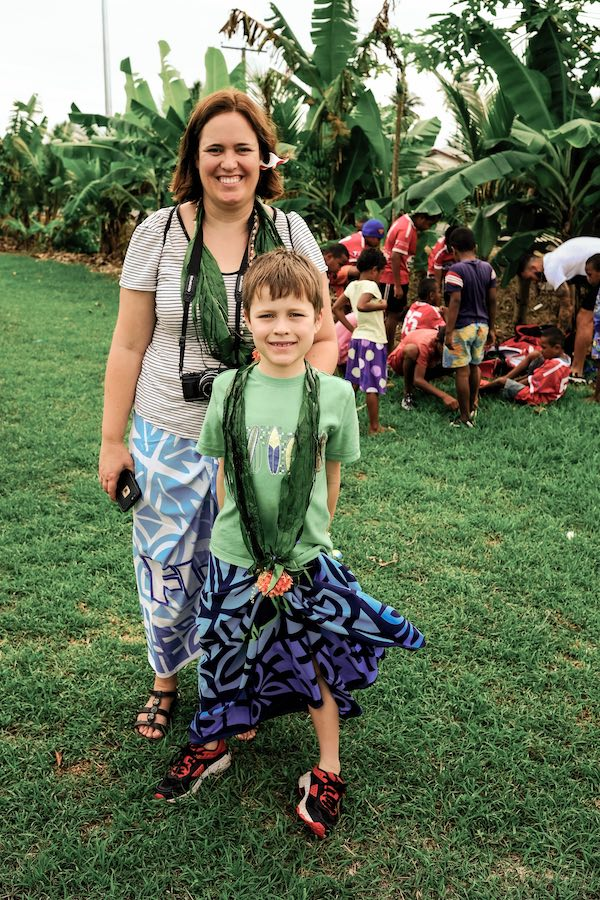 Travelling with my tween son in Fiji