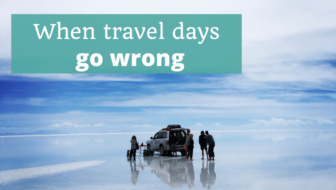 When travel days go wrong - The Thoughtful Travel Podcast Episode 158