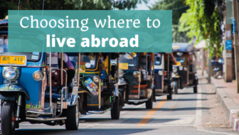 Choosing where to live abroad - The Thoughtful Travel Podcast Episode 162