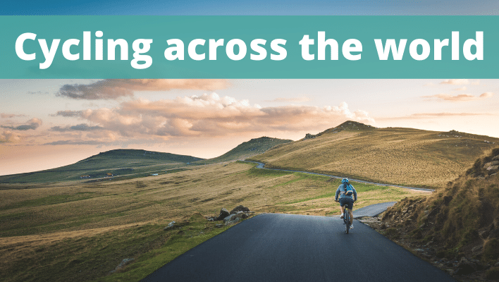 Cycling across the world - The Thoughtful Travel Podcast Episode 161