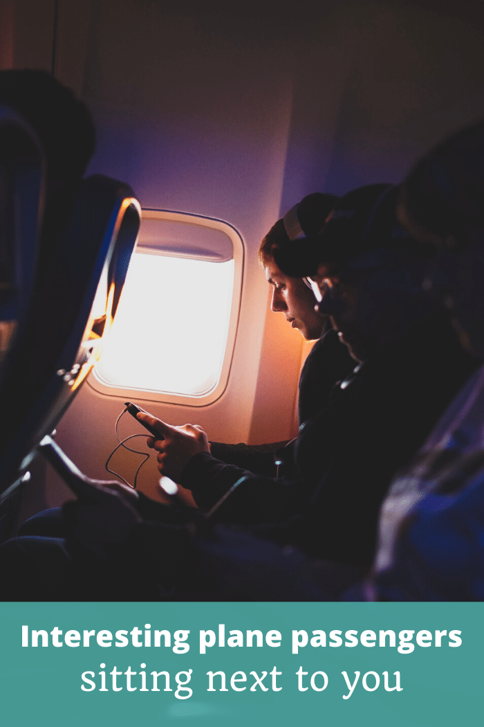 Interesting plane passengers sitting next to you - The Thoughtful Travel Podcast