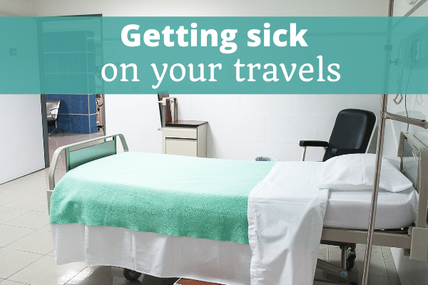 Getting sick on your travels - The Thoughtful Travel Podcast Episode 188