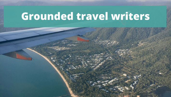 Grounded travel writer interviews