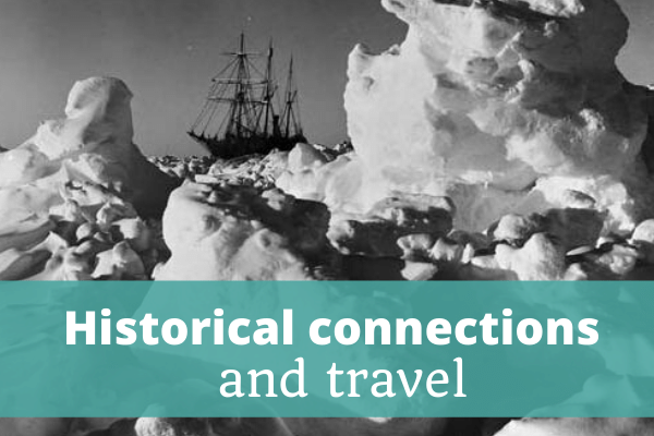 Historical connections and travel - The Thoughtful Travel Podcast Episode 187