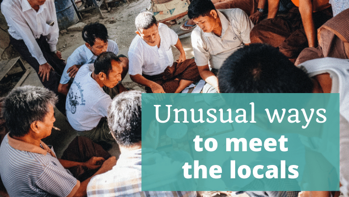 Unusual ways to meet the locals - The Thoughtful Travel Podcast Episode 189